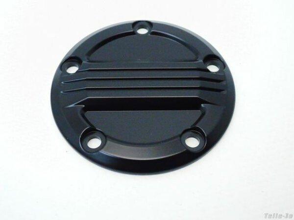 Air Flow Zündungsdeckel schwarz Point Cover Harley Twin Cam ab Bj. 99