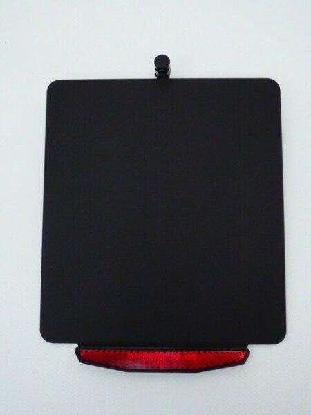 Kennzeichenhalter Change Schwarz - inklusive Beleuchtung und Rückstrahler -
