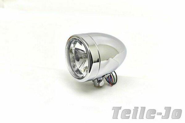Klarglasscheinwerfer Headlight Stretch, Hidden Lens, Diamond Cut, Chrom