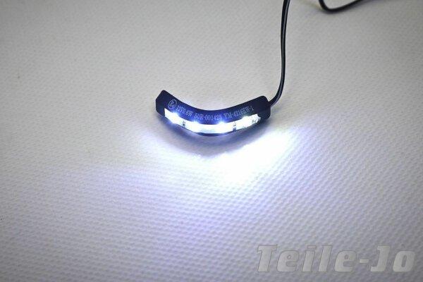 LED Micro Kennzeichenbeleuchtung biegsam Nummernschildbeleuchtung Harley