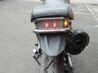 LED Rücklicht - Cube - Würfel - hinten - Mini - mit Prüfzeichen - sehr stark