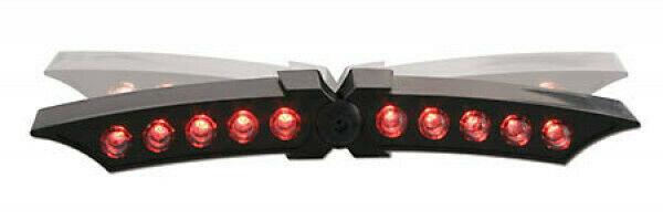 LED-Rücklicht X-WING, schwarzes Gehäuse