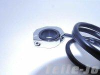Lenkerschalter Chrom CNC gefräst Tasterfuktion...