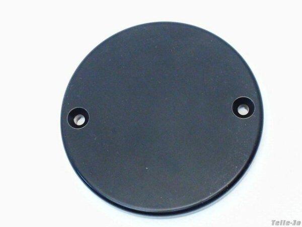 Motordeckel rechts Indian Chief in schwarz-seidenmatt 81,5 mm Durchmesser Cover