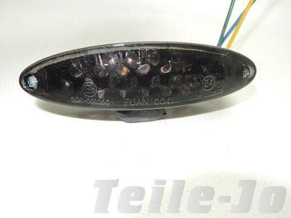 Rücklicht LED, schwarz,Yamaha, Honda, Kawasaki, Suzuki - E-Prüfzeichen