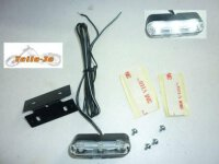 SHIN YO Universal TRI-LED-Standlicht mit Halter und...