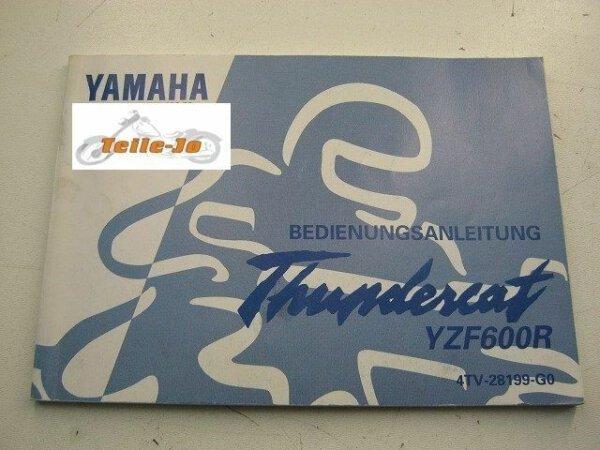 Thundercat YZF600R YZF 600 F Yamaha Handbuch Betriebsanleitung