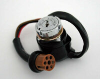 Zündschloss CB 250-750 K6 runder Stecker
