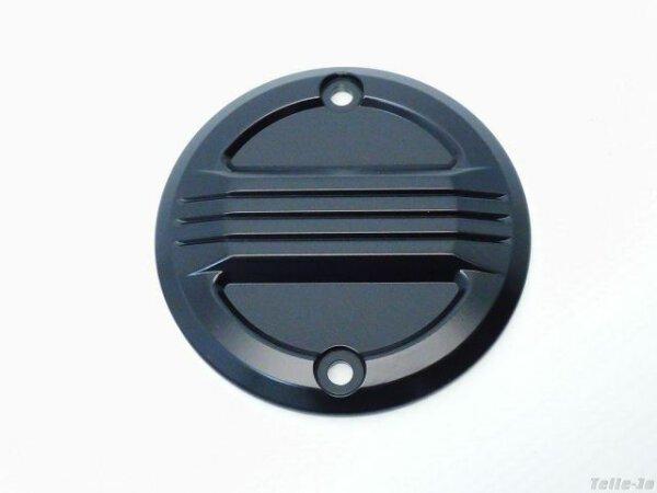 Zündungsdeckel schwarz Point Cover Harley Sportster XL 70-03