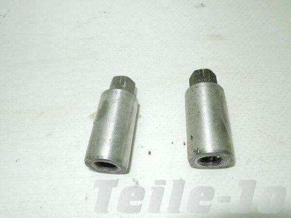 Zylinder - Hülsenmutter - 2 Stück - Motor - YAMAHA SR 500 2J4 48T - gebraucht