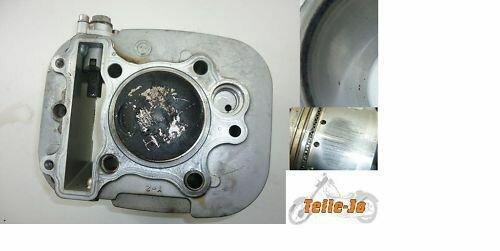 Zylinder Hinten + Kolben YAMAHA XV 535 VIRAGO